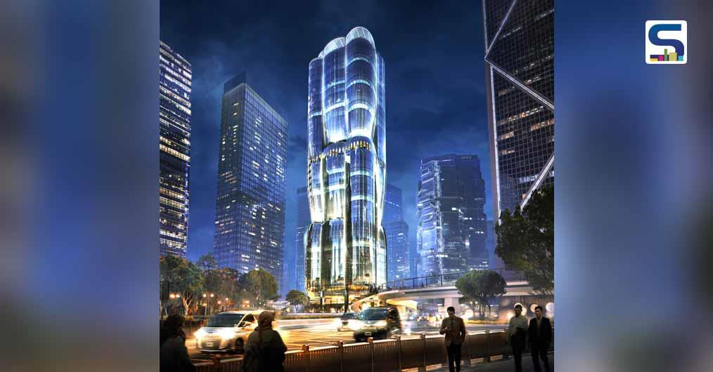 2 Murray Road' Office Tower by ZHA in Hong Kong Revealed