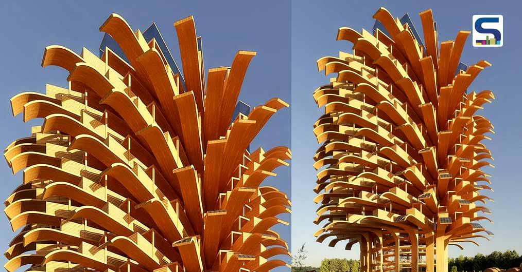 Solar Tree' by Nudes | Solar Leaves | Sustainable Architecture