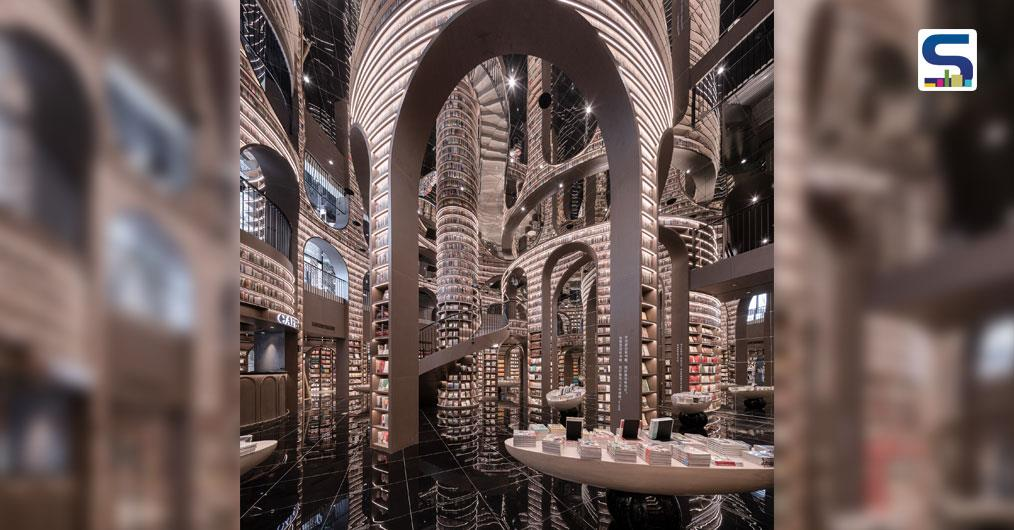 Imagine a paradise where all around, you are surrounded by books and only books creating a serene and picturesque environment for any book lover. The same has been created by architecture firm X+ Living in the historic city of Dujiangyan, China. Here, the designer has injected new vitality into this
