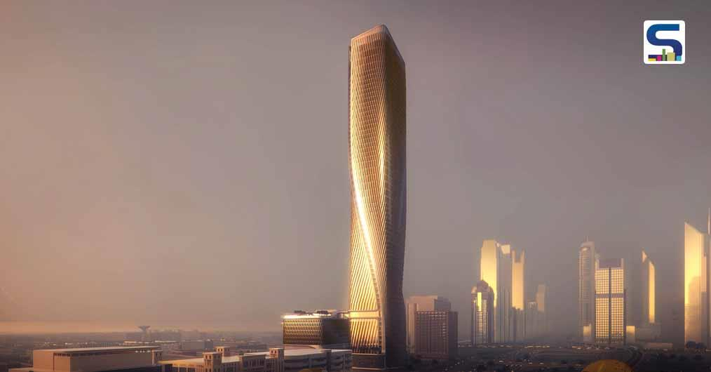The wasl Tower in Dubai | World's Tallest Ceramic Facades | UNStudio