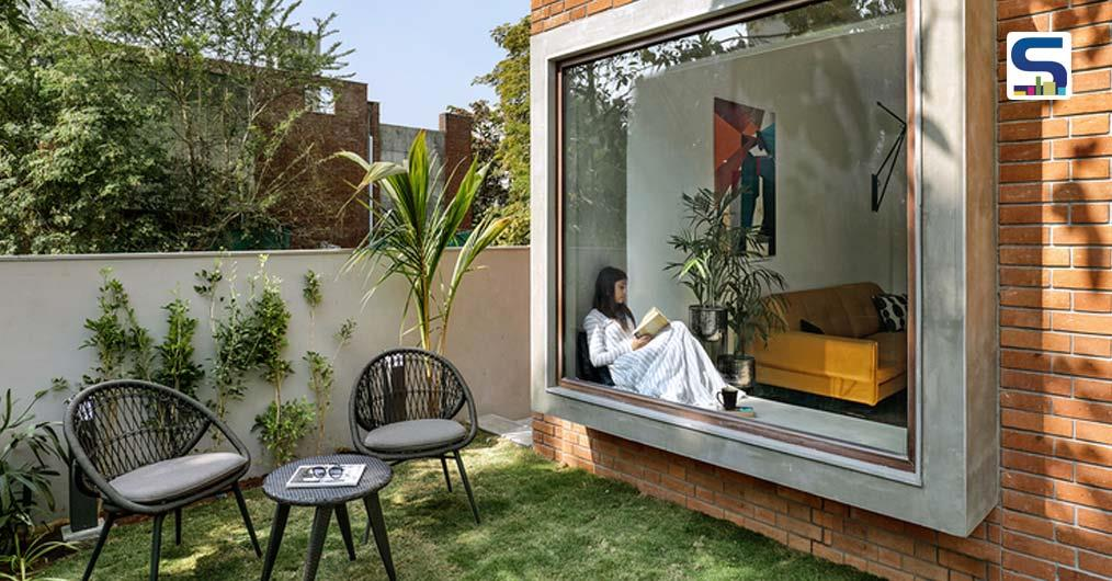 Transspace Uses Boxes to Add Character in This House | Vadodara | Gujarat