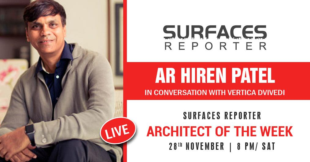Hiren Patel, Principal Architect and Director, Hiren Patel Architects