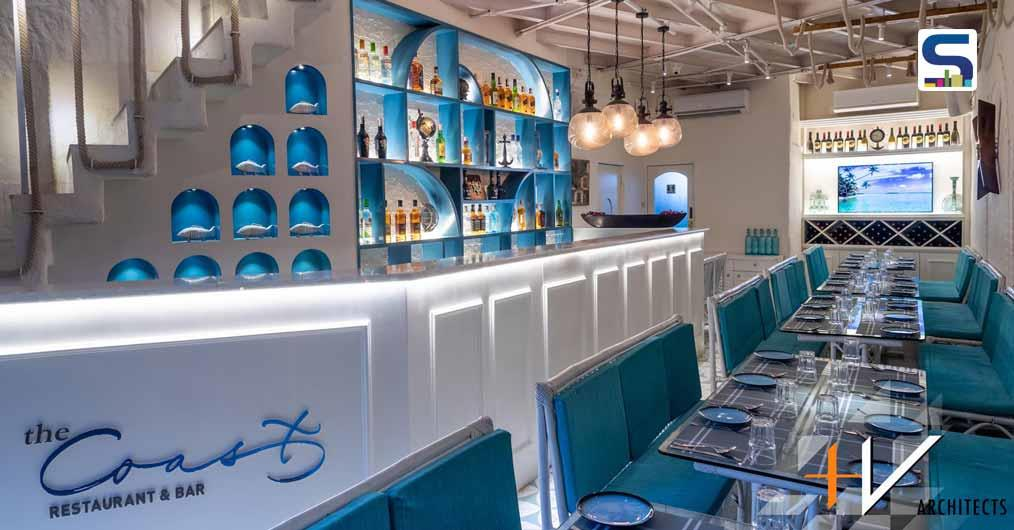 A Mediterranean-Theme inspired Restaurant in Mumbai  | The Coast | +V Architects