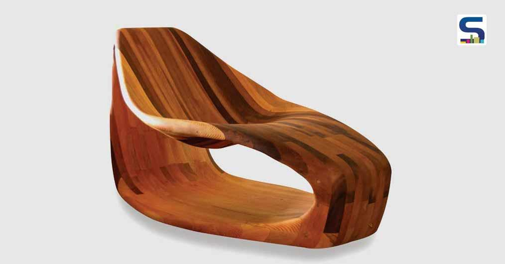 Parametric Petal Chair Is Crafted With Minimum Wood Wastage