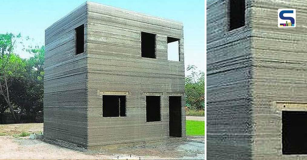 First 3D-Printed Building in India, Made Using Local Building Materials