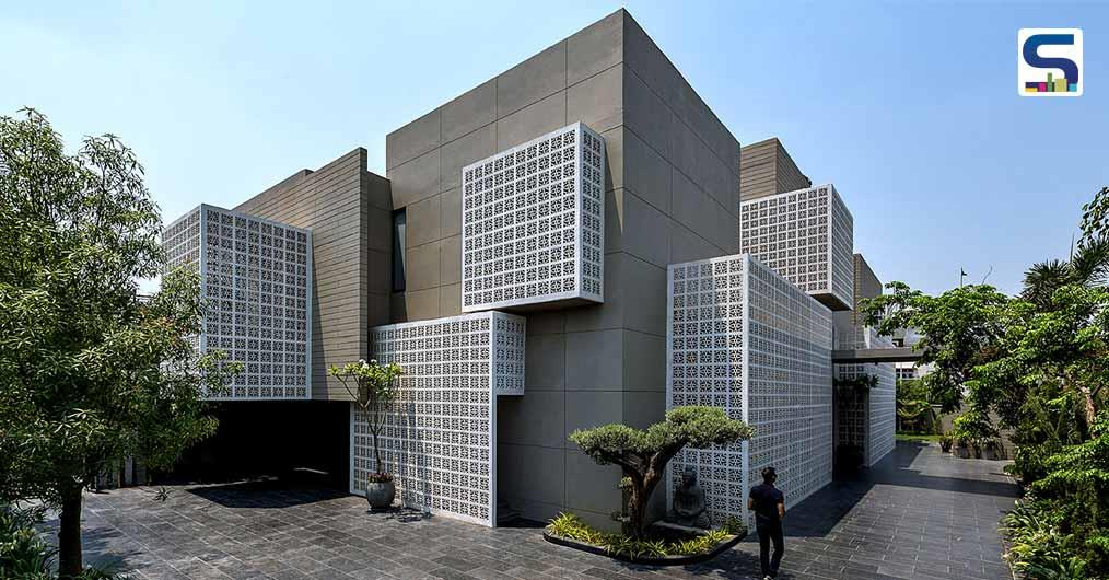 The Facade Patterns of 18 Screens Designed by Sanjay Puri Architects Are Inspired From Traditional Indian Architecture and Lucknow 'Chikan' Embroidery