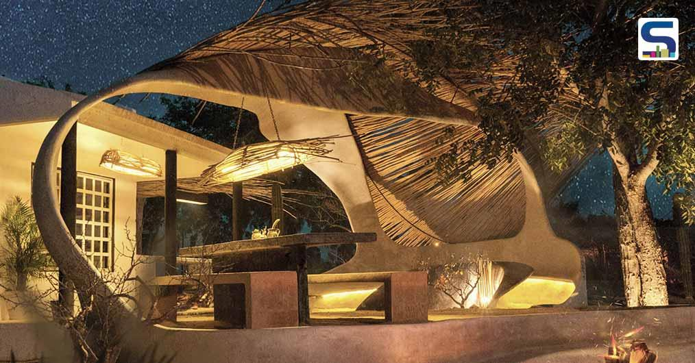 Mexico-based Architects Hand-Made This Sustainable Moon Sculpture | KBANIA and F*Money | El Pescadero, Mexico