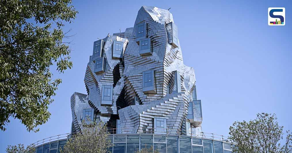 11,000 Aluminium Panels Form the Façade of Frank Gehrys Twisting Art Tower Which Is Set To Open In June | Luma Arles
