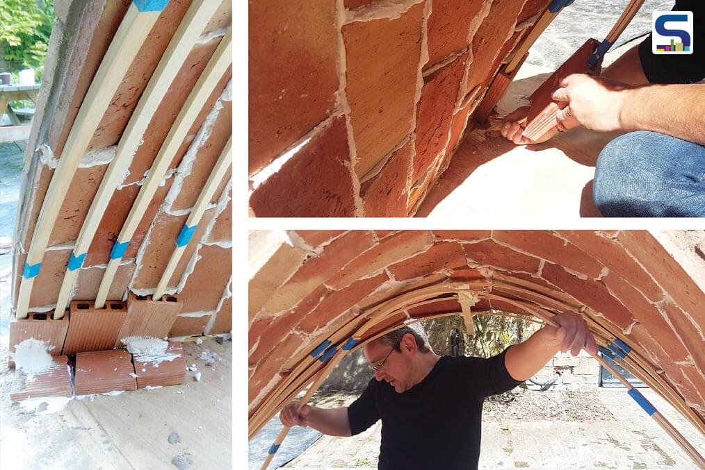 Tiles in an Archway in His IN-SITU Project