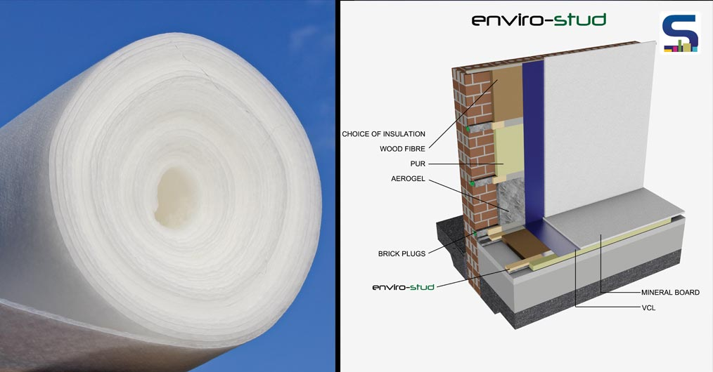 Aerogel Thermal Wrap: Super Insulator for Green Building Applications