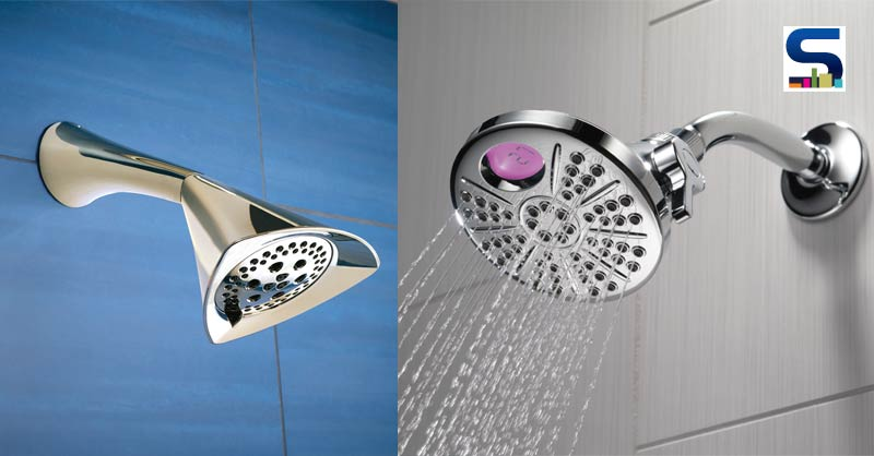 """Showerhead plays very important role in aesthetics of the bathroom as well as on the environment. It is vital to splurge on showers which plays key role in saving water and to change the look of the bathroom."