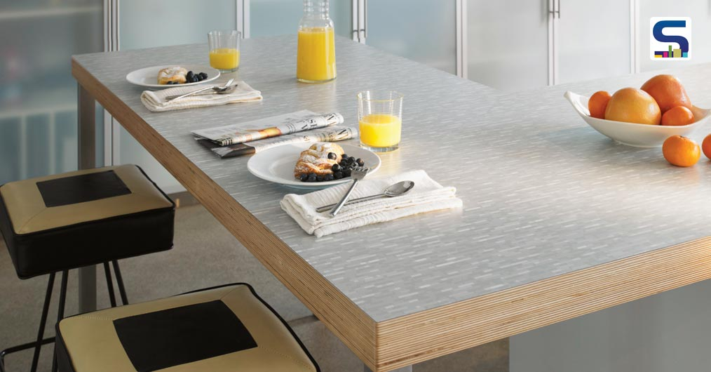 """ANNIVERSARY COLLECTION: Exclusively designed to celebrate 100 years of Formica, the pattern of laminates under this collection screams to be """"something very fresh"""" with vibrant colors to specially cater Indian laminate industry."""
