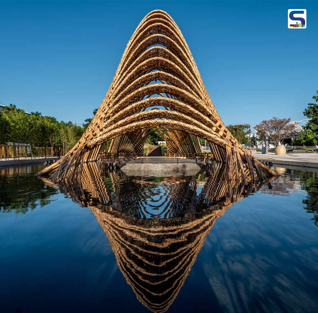 Bamboo Pavilion in Taichung, Taiwan by Zuo-Studio
