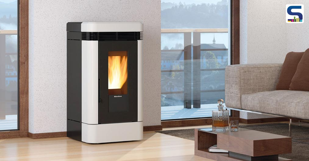 Angela And Angela Plus - Ventilated And Ducted Pellet-Burning Stove
