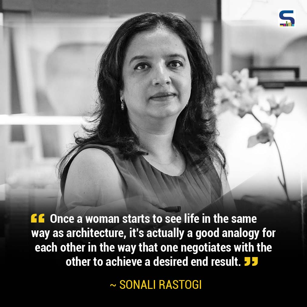 Sonali Rastogi, Architect