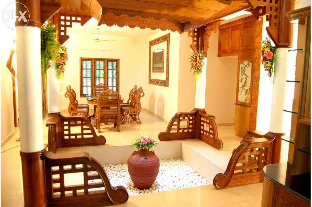 Traditional organic Kerala House Design