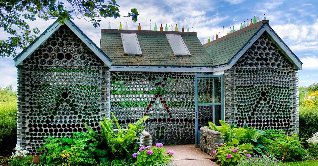 Glass Bottle Houses