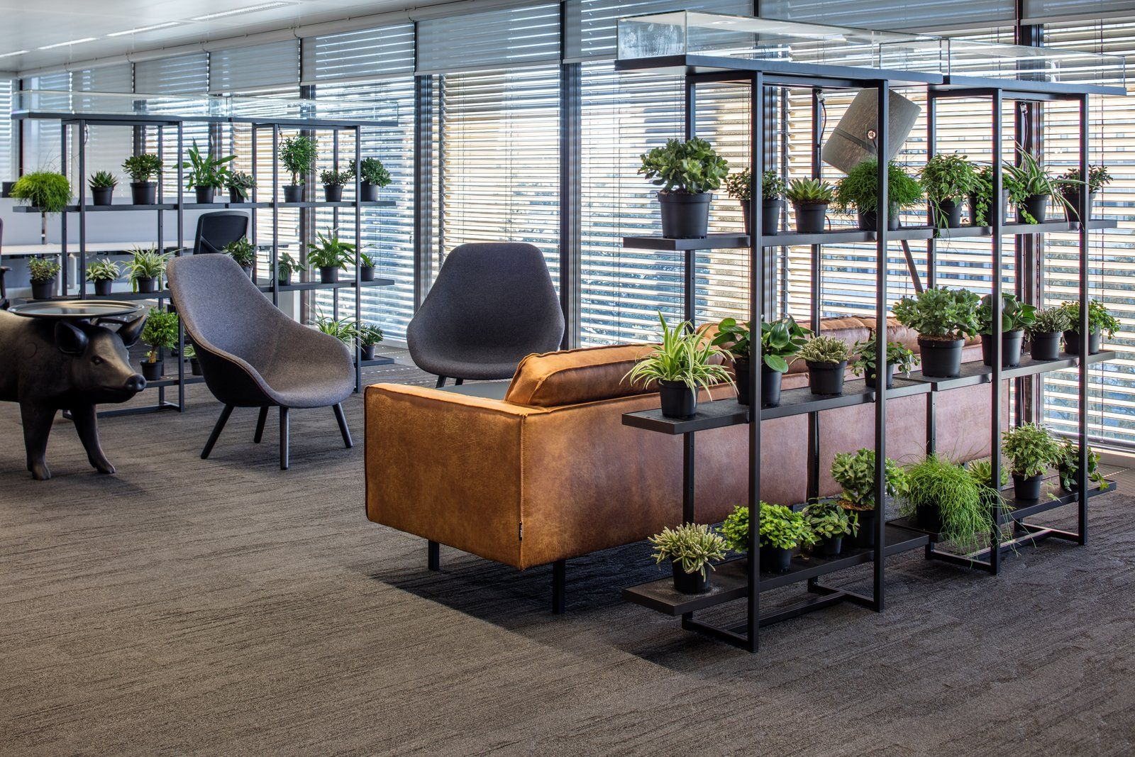 greenery in office design
