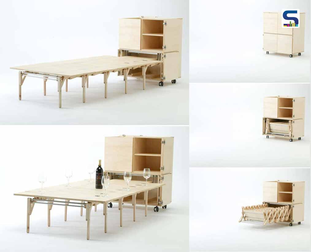 The Expandable Mobile Dining Unit