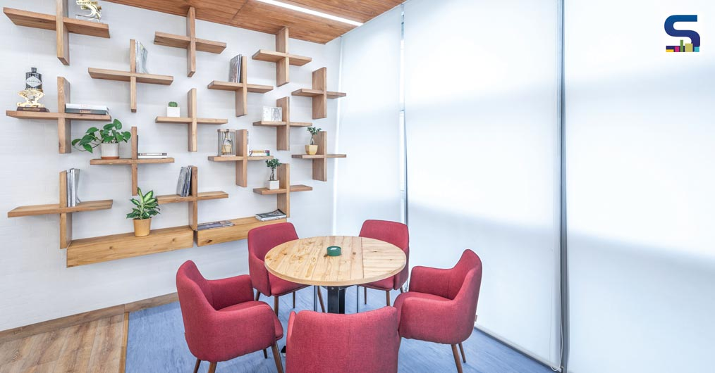 AN OFFICE DEVOTED TO IDEATION & CONVERSATION SPACE