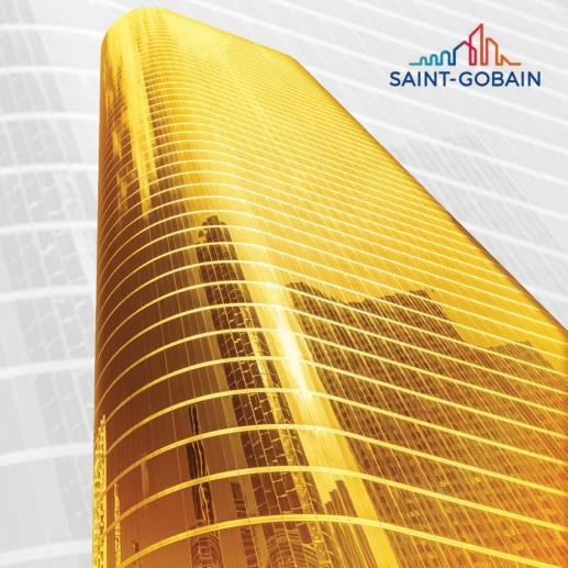 Get a 'Midas Touch' this summer for your facade with Saint-Gobain's Midas Gold launched under their Sun-Ban category.