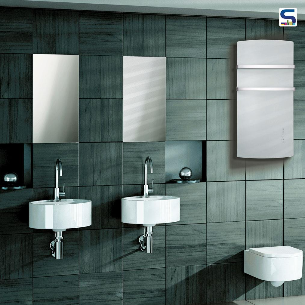 VETROMODA DEVA recently launched 100% Italian, one of its kind & first time in India. A dual function towel warmer & heat radiator. Ideal for installation in damp places.