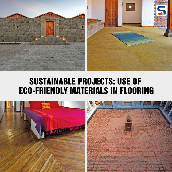 Surfaces Reporter is presenting some of the sustainable projects in which eco-friendly materials in flooring have been used.