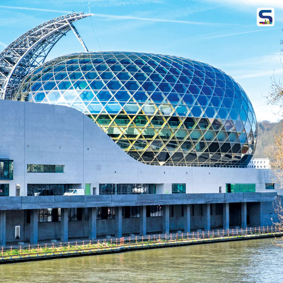 With its unique and shimmering façade La Seine Musicale, Seguin Island has become a focal point of the region- the heart beat of Vallée de la Culture in Hauts- de-Seine.