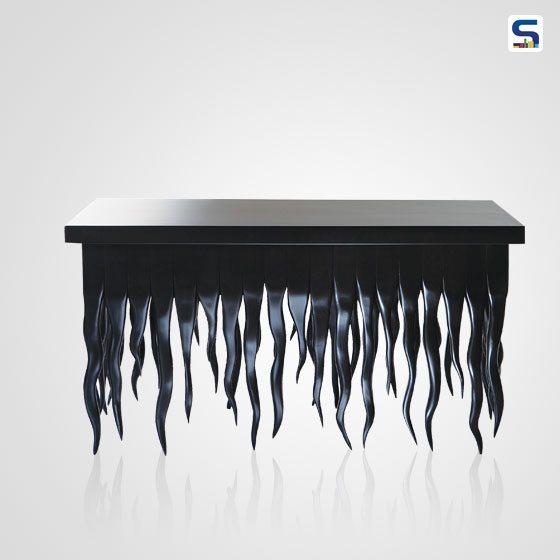 Canadian designer Judson Beaumonts Squiddy table comes from a darker though still whimsical place.