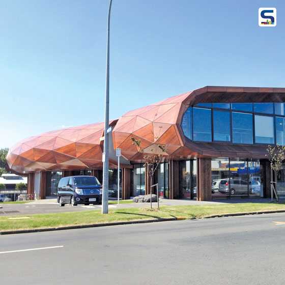 A perfect blend of art, design and cultural detailing in the Te Oro – the Glen Innes Music and Arts Centre by the architect and design team of architect Lindsay Mackie of Archimedia