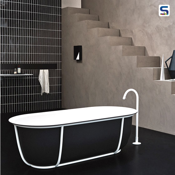 Patricia Urquiola's designs showcase some unique creations with different materials and innovative ideas. She comes up with 3 new bathroom designs, Lariana, Cuna Bath and Sonar each with a delicate innovative characteristics.