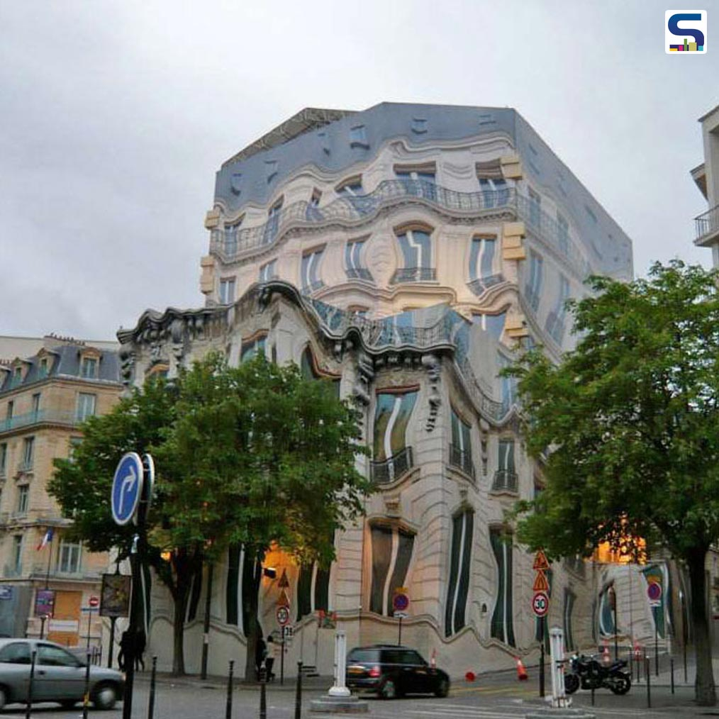 Melting Building at 39 Avenue George V in Paris