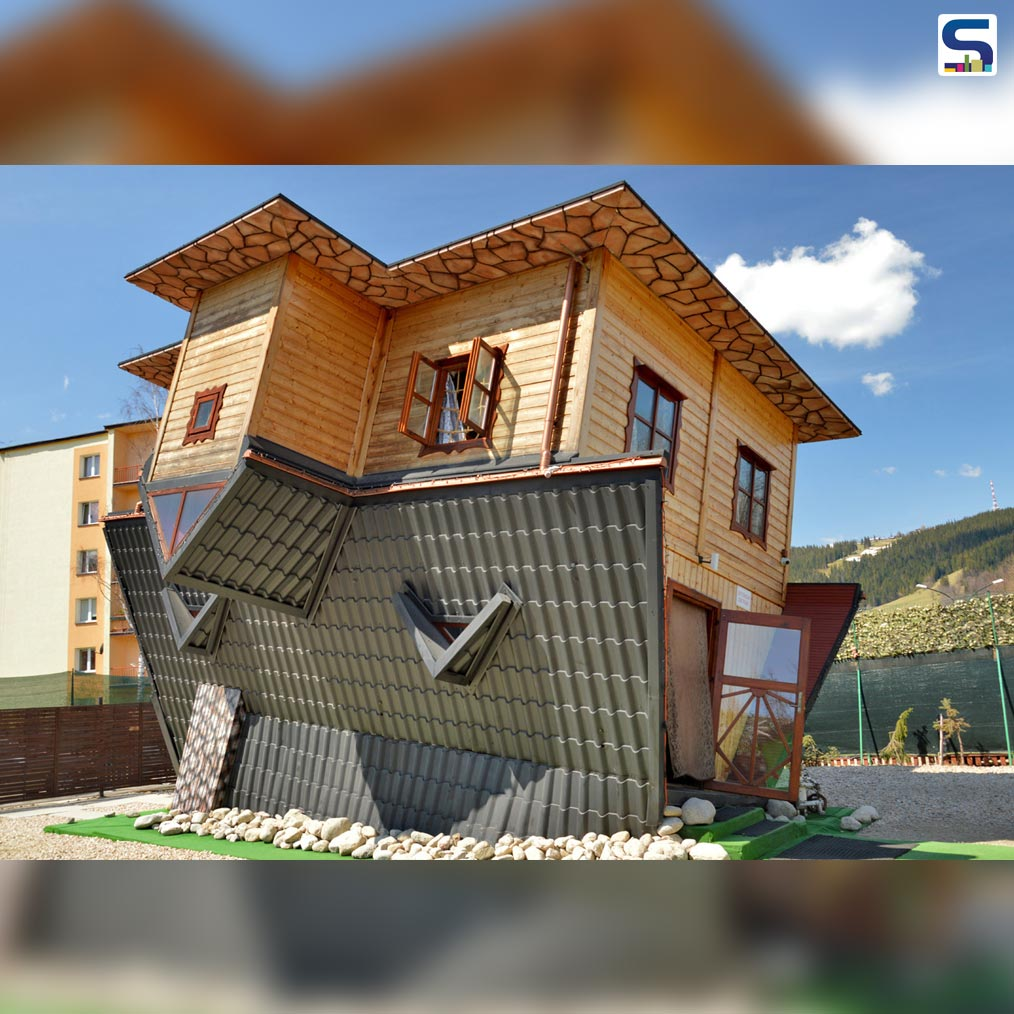 A Mindboggling Upside Down House in Zakopane, Poland