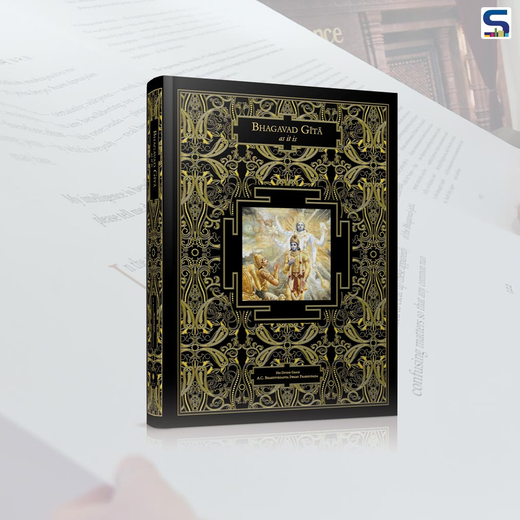 "The greatest of all Holy books have been printed in a new single printing of Srila Prabhupada's Bhagavad-gita; as it is dubbed by ISKON, ""The Astounding Bhagavad-gita,"" which measures 2.80 x 2.00 meters (9 x 6.5 ft) and weighs 800 kgs"