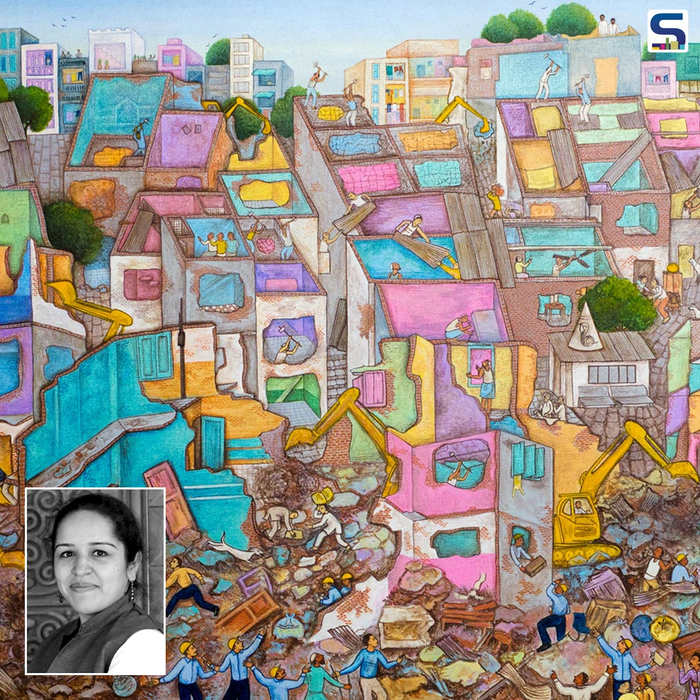 In WADe Asia 2018, Dr Jasmine Kaur won WADe award under the Painting (Excellence) Category. Dr Jasmine Kaur is an assistant professor, faculty of architecture in Surat, Gujarat.
