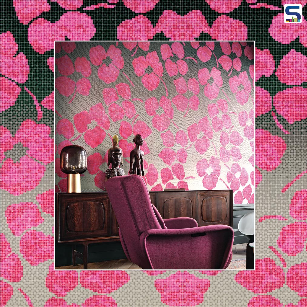 Enchanting Floral Mosaics from Bisazza