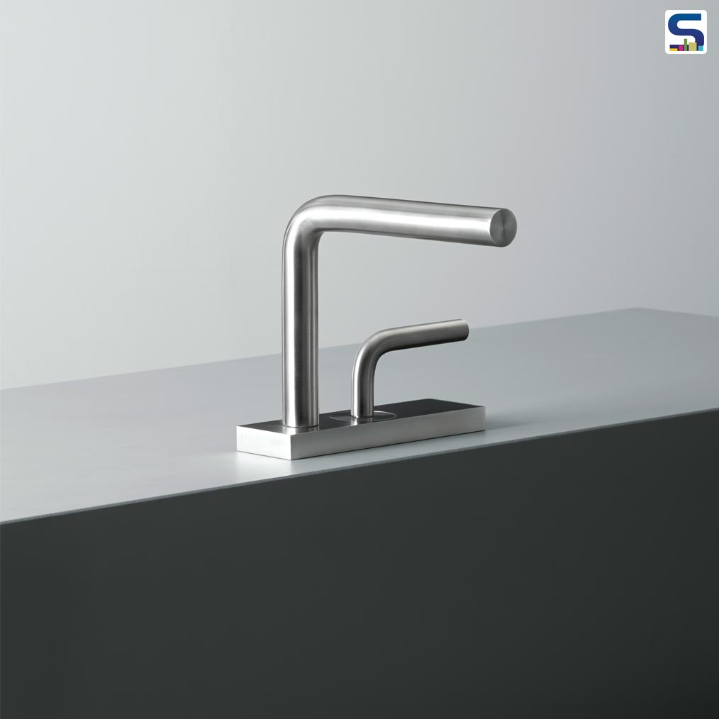 Levo is the new collection of taps with an essential design both for the bathroom and the kitchen.