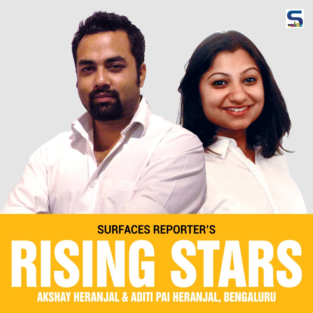 Rising Stars Akshay Heranjal and Aditi Pai Heranjal, Purple Ink Studio, Bengaluru