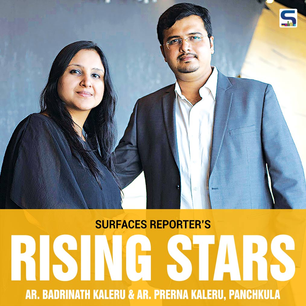 Believing that every Problem has a capacity to inspire a unique and creative solutions that motivate growth, the young duo Badrinath Kaleru and Prerna Kaleru has founded Studio Ardete in Chandigarh.