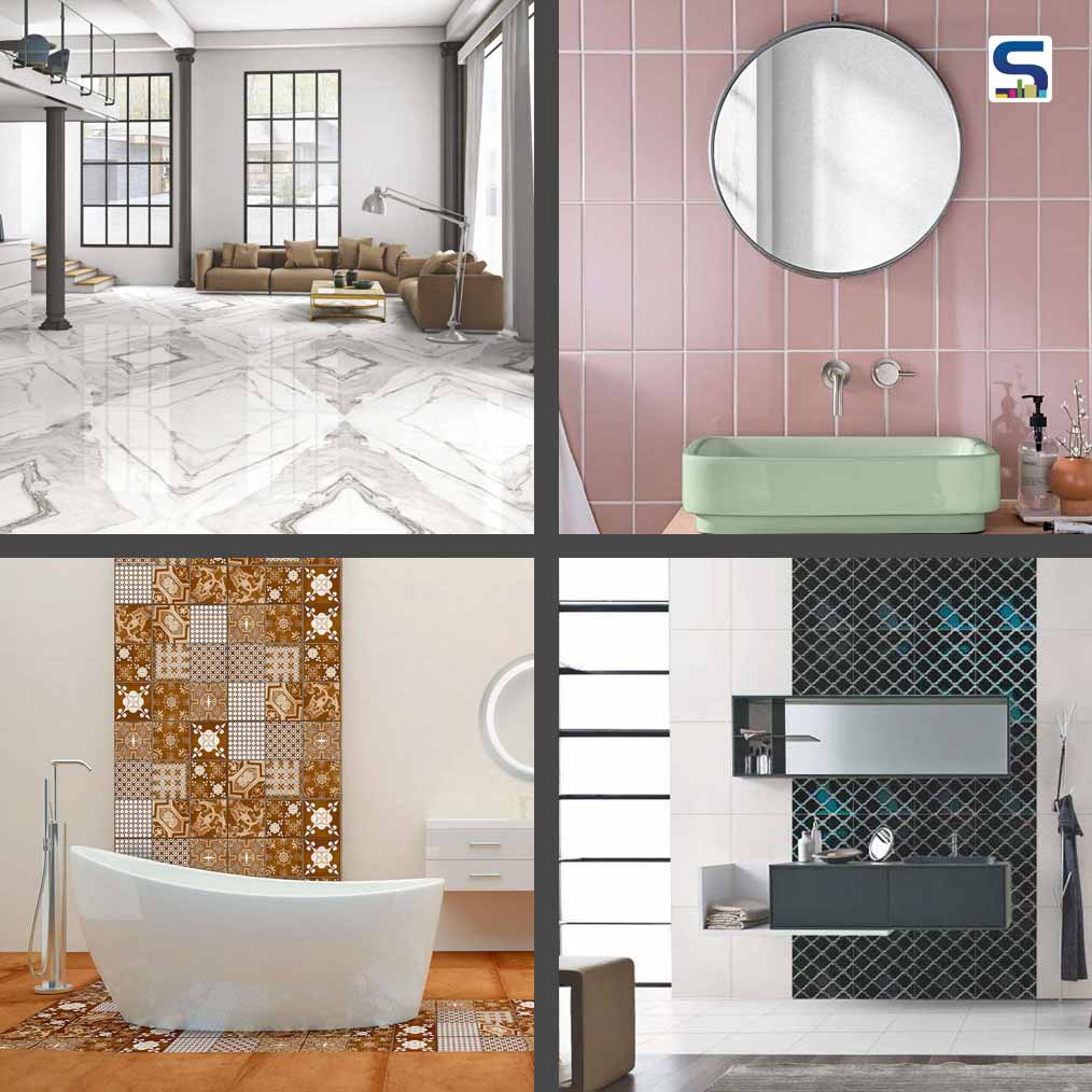 10 Striking Tiles designs