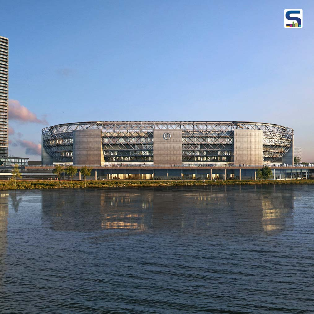 OMA unveils designs for Feyenoord Stadium