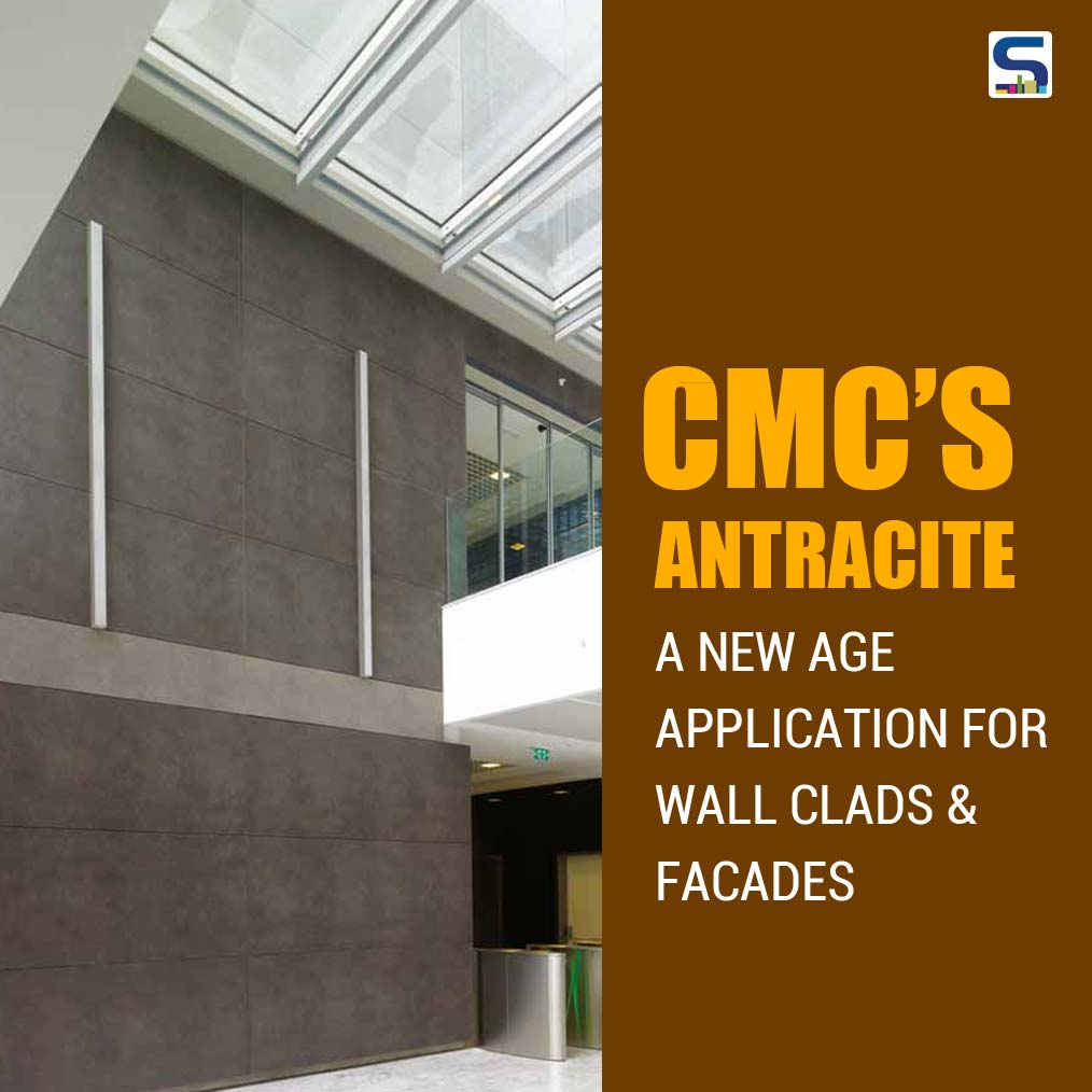 Classic Marble Company (CMC) has introduced its latest porcelain slab product – Antracite from the Kalesinterflex range. Available in standard dimensions of 3000mm x 1000mm and in thickness choices of 5mm and 3mm,
