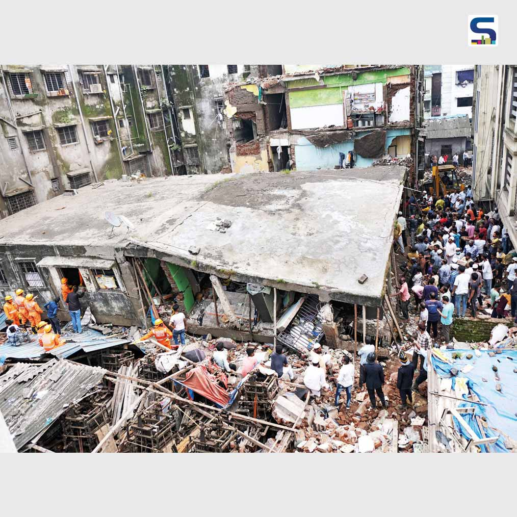 Three-Storey Jilhani Building Collapsed in Bhiwandi