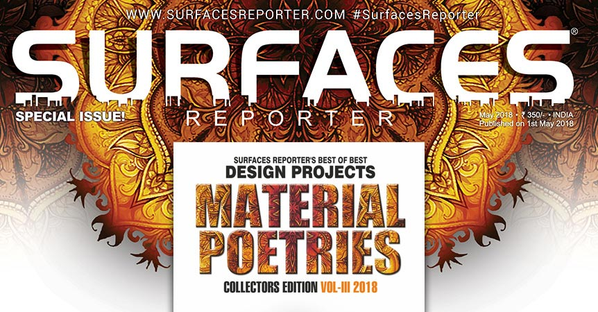 This special 3rd edition of #SurfacesReporter Design Projects showcases more than 30 projects received from all across the nation and beyond, by master designers, rising architects and budding ones..