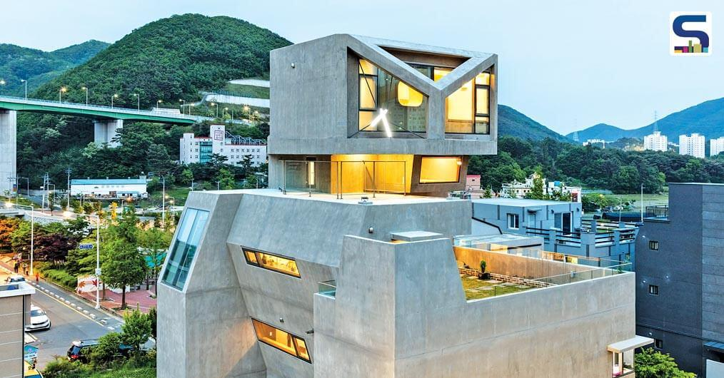 South Korean architect Moon Hoon - commonly known for his irregular but personalised forms and architecture.