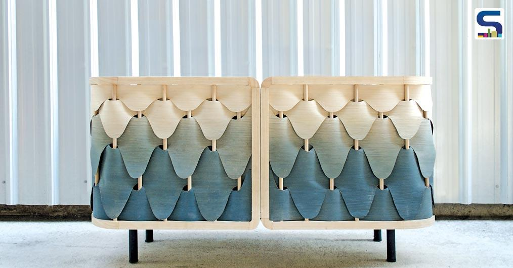 Creative and beautifully made, the Alato Cabinet makes a lasting impression with its striking design