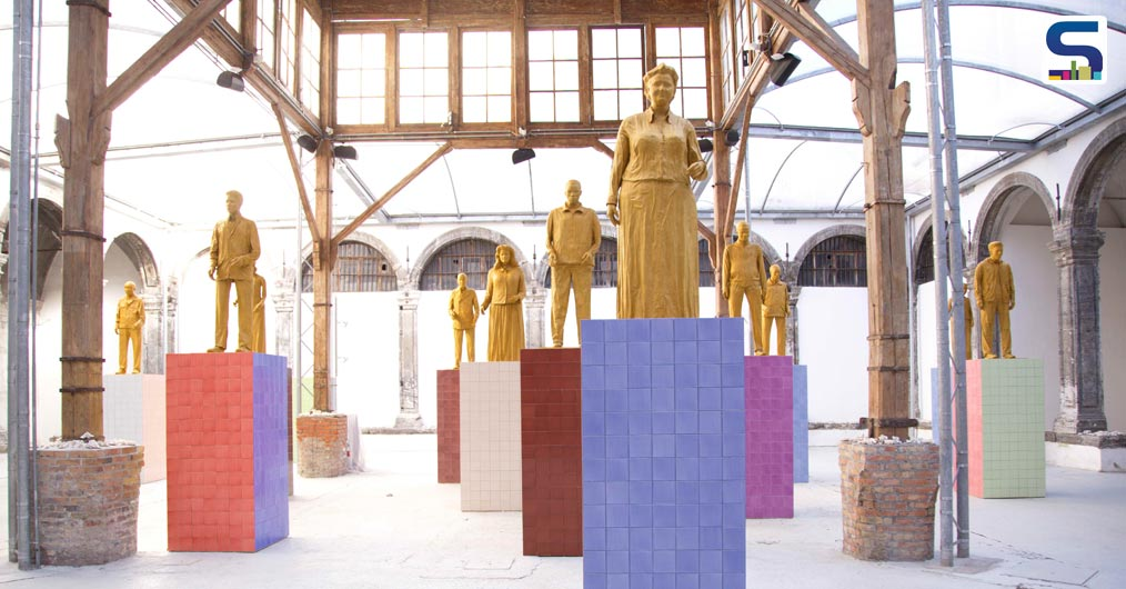 Monumenti, the site-specific work, is an art exhibition of the Made in Cloister Foundation, which opened to the public on 8 December.