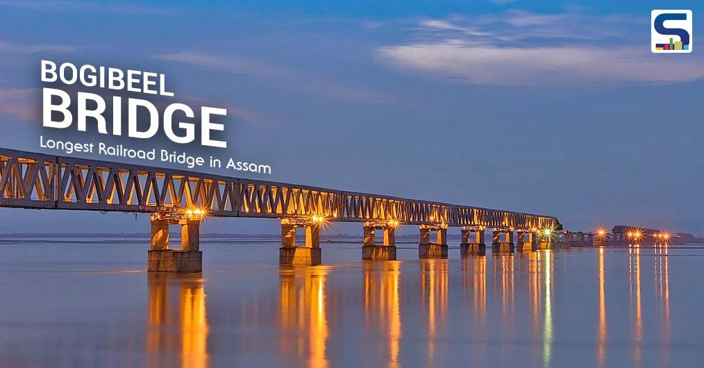 Narendra Modi, our honourable Prime Minister, inaugurated India's longest rail-road bridge- Bogibeel Bridge- in Assam
