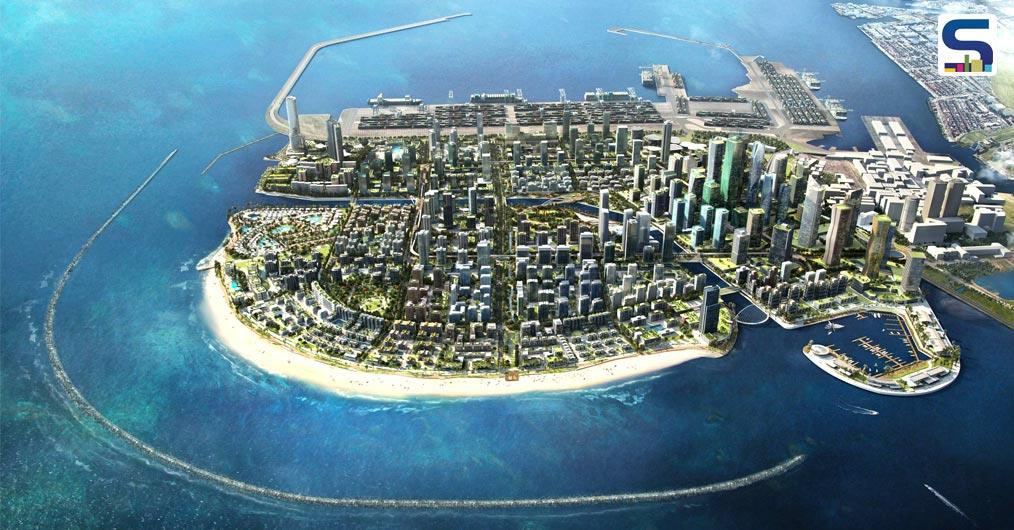 Sri Lanka is constructing a new Port City on the reclaimed land from the Indian Ocean with the help of Chinese investment fund of $1.4bn.