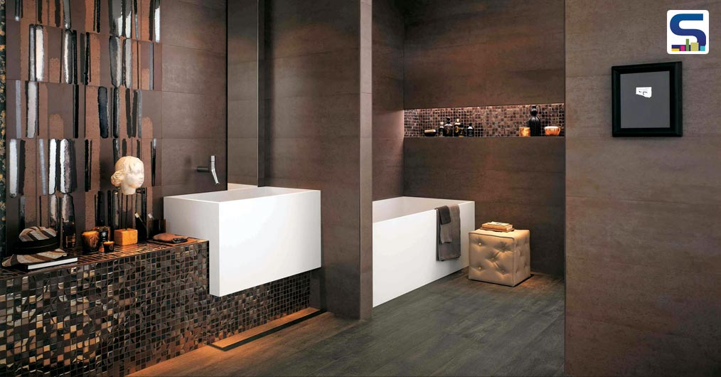 Colours, shades and tints do play a pivotal role in projecting any scenario and when it comes to bathrooms